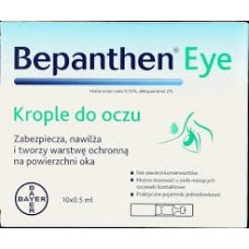 Bepanthen eye krople do oczu 10 minimsów 0,5 ml