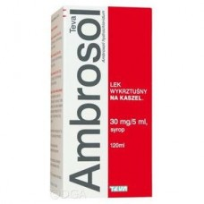 Ambrosol Teva syrop 30 mg/5 ml 1 butelka 120 ml